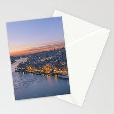 The view from Serra do Pilar - Porto and Gaia Stationery Cards