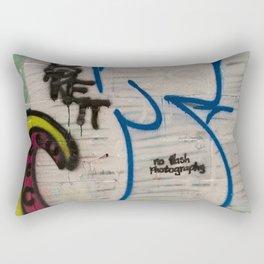 No flash Photography Rectangular Pillow