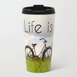 Life is Good Travel Mug