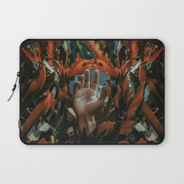 Hand in leaves Laptop Sleeve