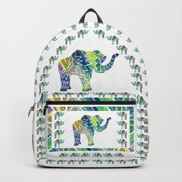 Patchwork Elephant Backpack
