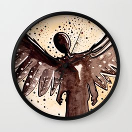Lonely Soul... Wall Clock