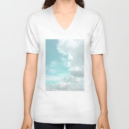 Head in the clouds #buyart #decor #freshair Unisex V-Neck