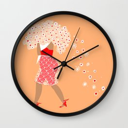 A big bouquet of flowers Wall Clock