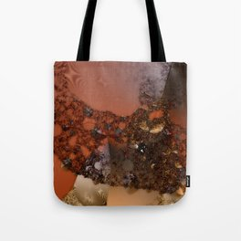Study of textures and terra cotta Tote Bag
