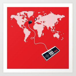 Control The World Art Print