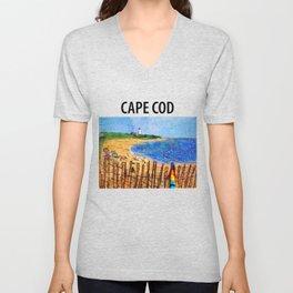Summer down the Cape Unisex V-Neck