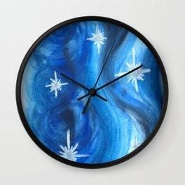 Starry Night Wall Clock