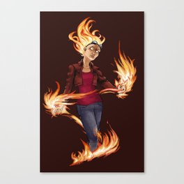 Modern Chandra Canvas Print