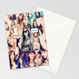 SNSD COLLAGE - JESSICA Stationery Cards