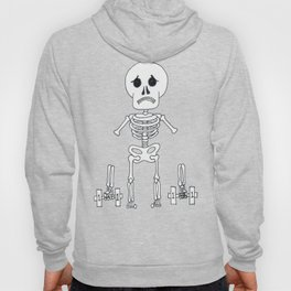 Skeleton can't lift weights... Hoody