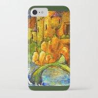fairytale iPhone & iPod Cases featuring Fairytale by SarahLiz