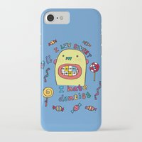 dentist iPhone & iPod Cases featuring I hate dentist by PINT GRAPHICS