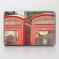 telephone iPad Cases featuring Telephone by The Last Sparrow