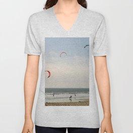 Kite Surfing Unisex V-Neck