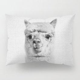 Alpaca - Black & White Pillow Sham