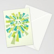 Modern Sunburst Stationery Cards
