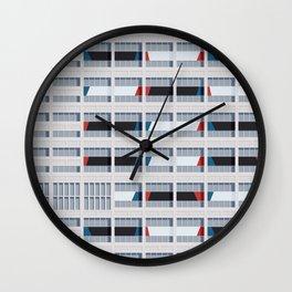 S03-2 - Facade Le Corbusier Wall Clock