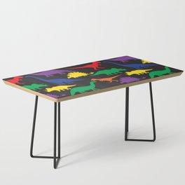 Dinosaurs - Black Coffee Table