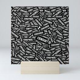 Censored by ilya konyukhov Mini Art Print