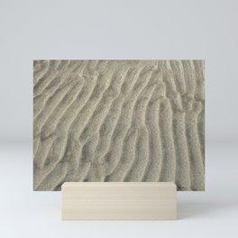 Oregon Coast Sand Ripples Photograph Mini Art Print
