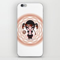 scorpio iPhone & iPod Skins featuring Scorpio by HanYong