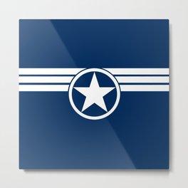 Captain S.H.I.E.L.D Metal Print