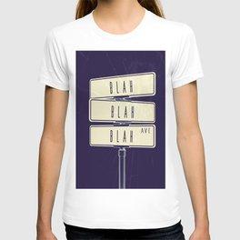 BLAH BLAH BLAH AVE T-shirt