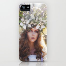 By the Goddess iPhone Case