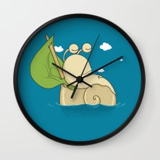 S(n)ail Away Wall Clock