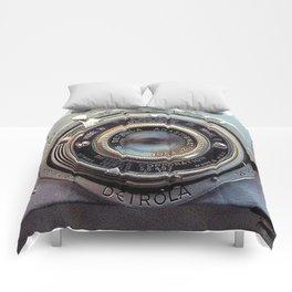 Detrola (Vintage Camera) Comforters