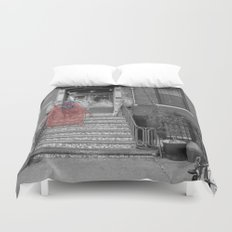 Unseen Monsters of New York - Raconteur Kibitzer Duvet Cover
