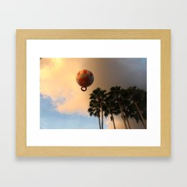 Light & Dark Framed Art Print