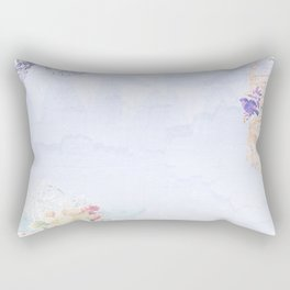 French vintage collage Rectangular Pillow