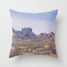 Westward III Throw Pillow
