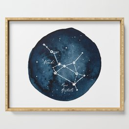 Sagittarius Zodiac Constellation Serving Tray