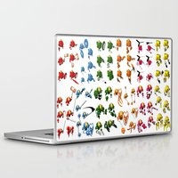 robots Laptop & iPad Skins featuring Robots by Artysmedia