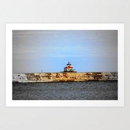 Oswego West Pierhead Lighthouse Art Print
