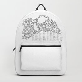 Race Tracks to Scale Backpack