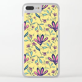 Four Petals Clear iPhone Case
