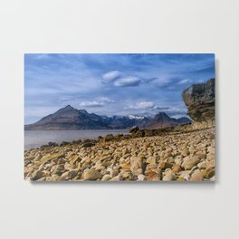The Cuillin from Elgol, Isle of Skye Metal Print
