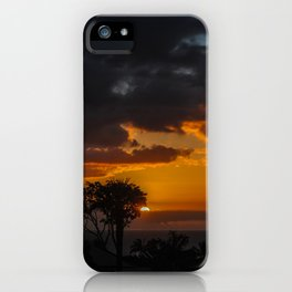 Hawaii Sunset iPhone Case