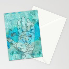 Agate Palm Reading Stationery Cards