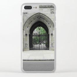 Yale - Graduation Gate Clear iPhone Case
