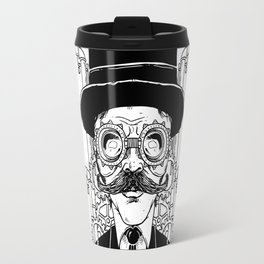 Steampunk Man Travel Mug