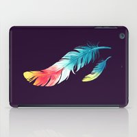 feather iPad Cases featuring Feather by Freeminds