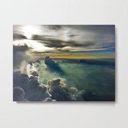 Cloud Garden Metal Print