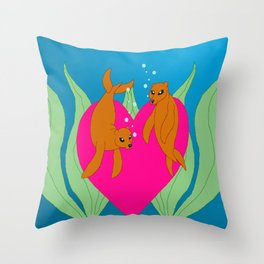 Seals or Selkies? Throw Pillow