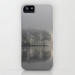 Hazy Lake Mornings iPhone Case