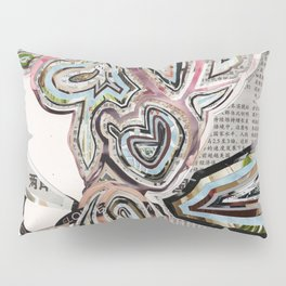 Travel In Time Pillow Sham